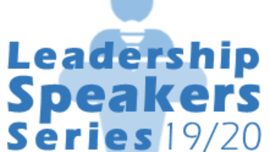 2019-20 Leadership Speakers Series
